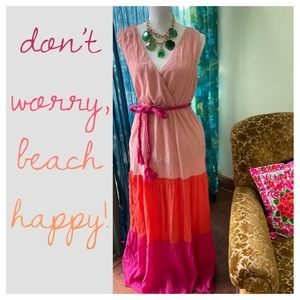 • NEW ITEM Red Dress Boutique Vacation Maxi • NWOT
